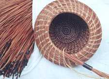 Pamela  Zimmerman Basket in progress
